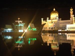 ブルネイの夜景
