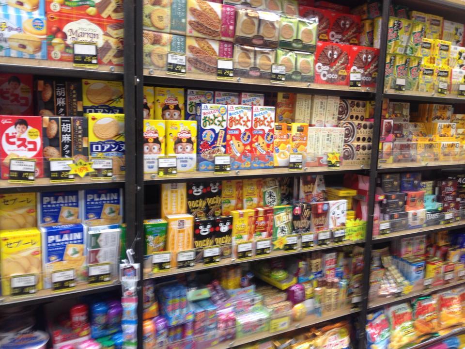 香港 日本のお菓子