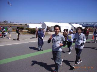 荒川フルマラソン