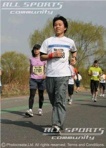荒川市民マラソン2008