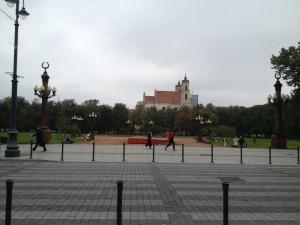 リトアニアヴィリニュス 杉原千畝記念碑