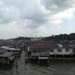 ブルネイの水上集落